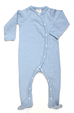 Hatch Organics Shop Online Long Sleeve Footed Onesie